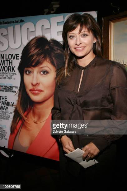 Maria Bartiromo during Success Magazine Celebrates Maria Bartiromo's Cover Story at Elaine's in New York NY United States