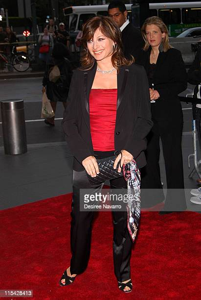 Maria Bartiromo during Time Magazine's 100 Most Influential People 2006 Outside Arrivals at Jazz at Lincoln Center in New York City New York United...