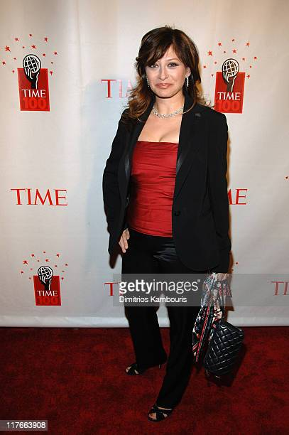 Maria Bartiromo during Time Magazine's 100 Most Influential People 2006 Arrivals at Jazz at Lincoln Center at Time Warner Center in New York City New...