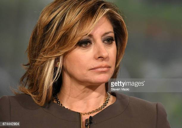 Maria Bartiromo hosts Mornings with Maria at Fox Business Network at FOX Studios on April 28 2017 in New York City