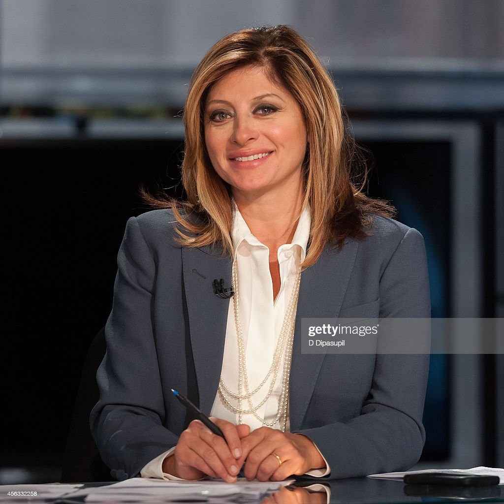 Maria Bartiromo hosts 'Opening Bell with Maria Bartiromo' at FOX Studios on September 29, 2014 in New York City.