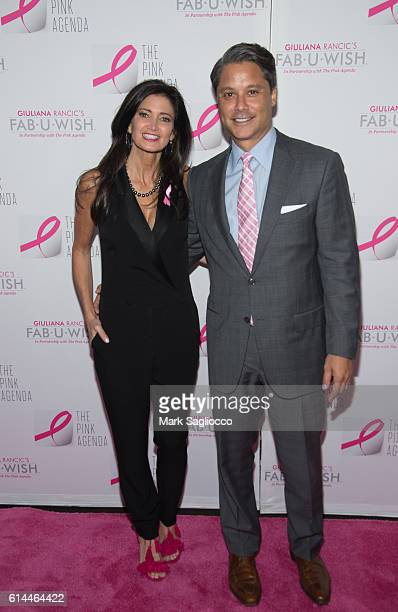 Maria Baum and Larry Baum attend The Pink Agenda 2016 Gala at Three Sixty on October 13 2016 in New York City