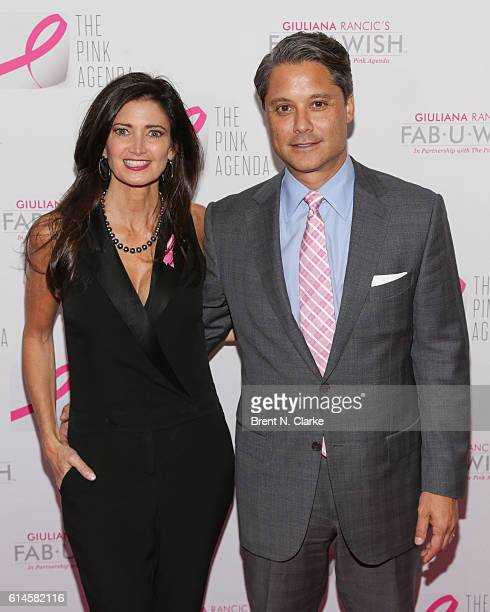 Maria Baum and Larry Baum attend The Pink Agenda's 2016 Gala held at Three Sixty on October 13 2016 in New York City