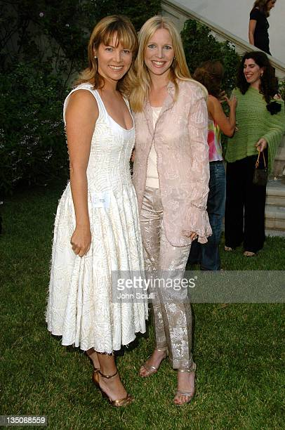 Maria Bell and Lauralee Bell during PS Arts Kick Off Reception for the Seventh Annual 'Express Yourself' Charity Benefit at Private Residence in Los...
