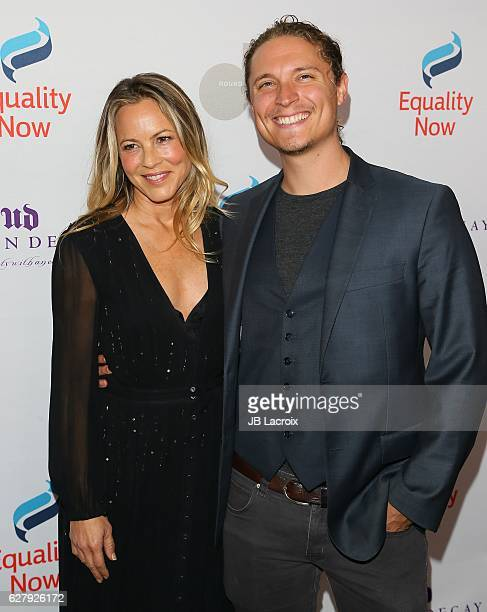 Maria Bello and Elijah AllanBlitz attend Equality Now's 3rd annual 'Make Equality Reality' gala on December 05 2016 in Beverly Hills California