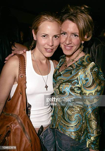 """Maria Bello and Joely Fisher during 2004 Toronto International Film Festival - """"Crash"""" Party at Premiere Lounge in Toronto, Ontario, Canada."""