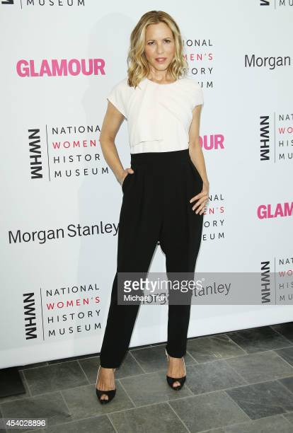 Maria Bello arrives at the National Women's History Museum's 3rd Annual Women Making History event held at Skirball Cultural Center on August 23,...