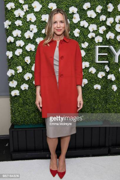 Maria Bello attends 'CBS Hosts The EYEspeak Summit' at Pacific Design Center on March 14 2018 in West Hollywood California