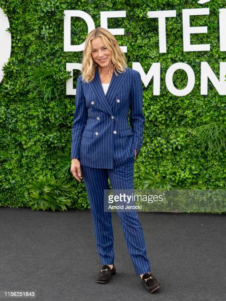 Maria Bello attends 'NCIS Naval Criminal Investigative Service' photocall during the 59th Monte Carlo TV Festival Day Three on June 16 2019 in...