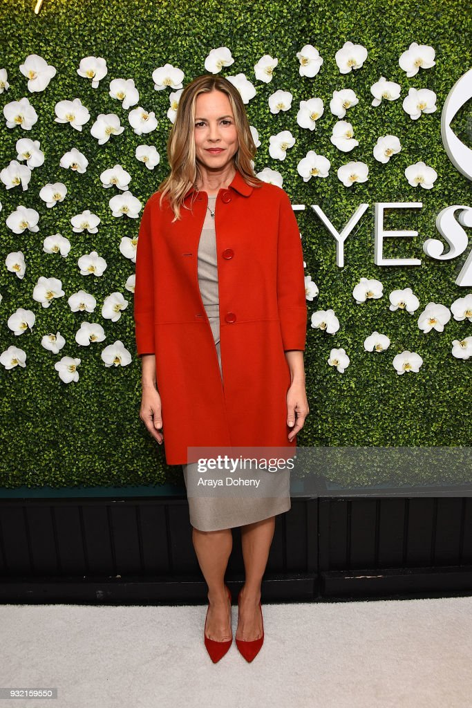 Maria Bello attends the CBS Hosts The EYEspeak Summit at Pacific Design Center on March 14, 2018 in West Hollywood, California.