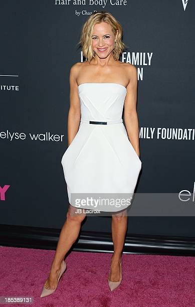 Maria Bello attends the Elyse Walker's Pink Party Benefiting The Women's Cancer Program At CedarsSinai's Samuel Oschin Comprehensive Cancer Institute...
