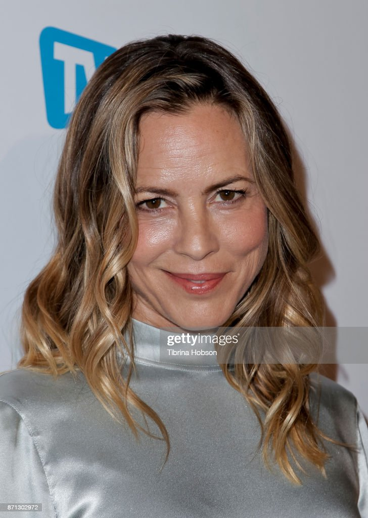 Maria Bello attends TV Guide Magazine's and CBS's celebration of Mark Harmon and 15 seasons of NCIS at Sportsmen's Lodge Event Center on November 6, 2017 in Studio City, California.