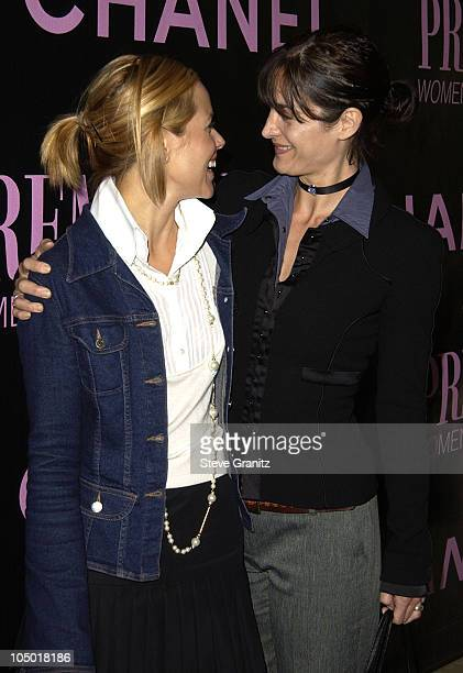 Maria Bello CarrieAnne Moss during 9th Annual Premiere Magazine 'Women In Hollywood' Luncheon at The Four Seasons Hotel in Beverly Hills California...