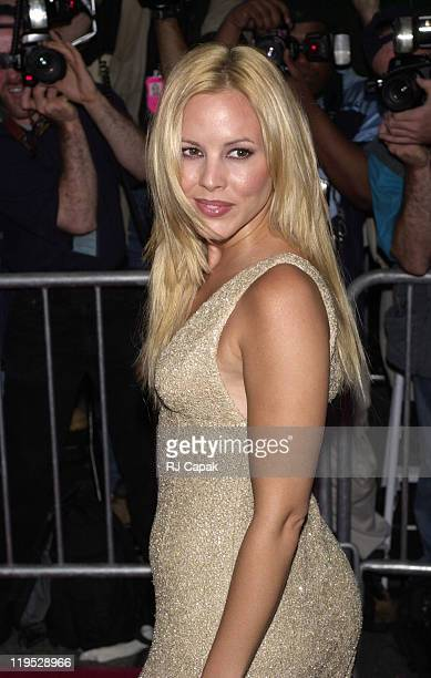 Maria Bello during Coyote Ugly New York Premiere at Ziegfeld Theatre in New York City New York United States