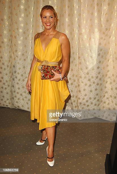 Maria Bello during Diamond Information Center & In Style Magazine Host The 5th Annual Awards Season Diamond Fashion Show Preview at Beverly Hills...