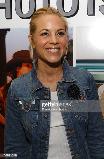 Maria Bello during Entertainment Weekly's First Ever Photo Issue Event at The Apple Store in SoHo in New York City New York United States