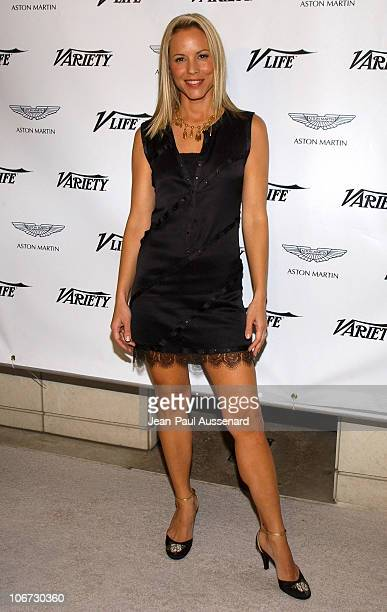 Maria Bello during VLIFE and Hermes Host the 1st Annual Oscar Contenders Party in Partnership with Aston Martin and Absolut at Hermes Boutique in...