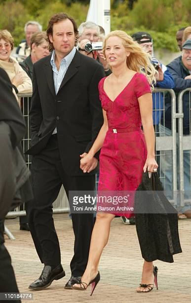 Maria Bello Friend during 2003 Deauville Film Festival 'The Cooler' Premiere at CID in Deauville France