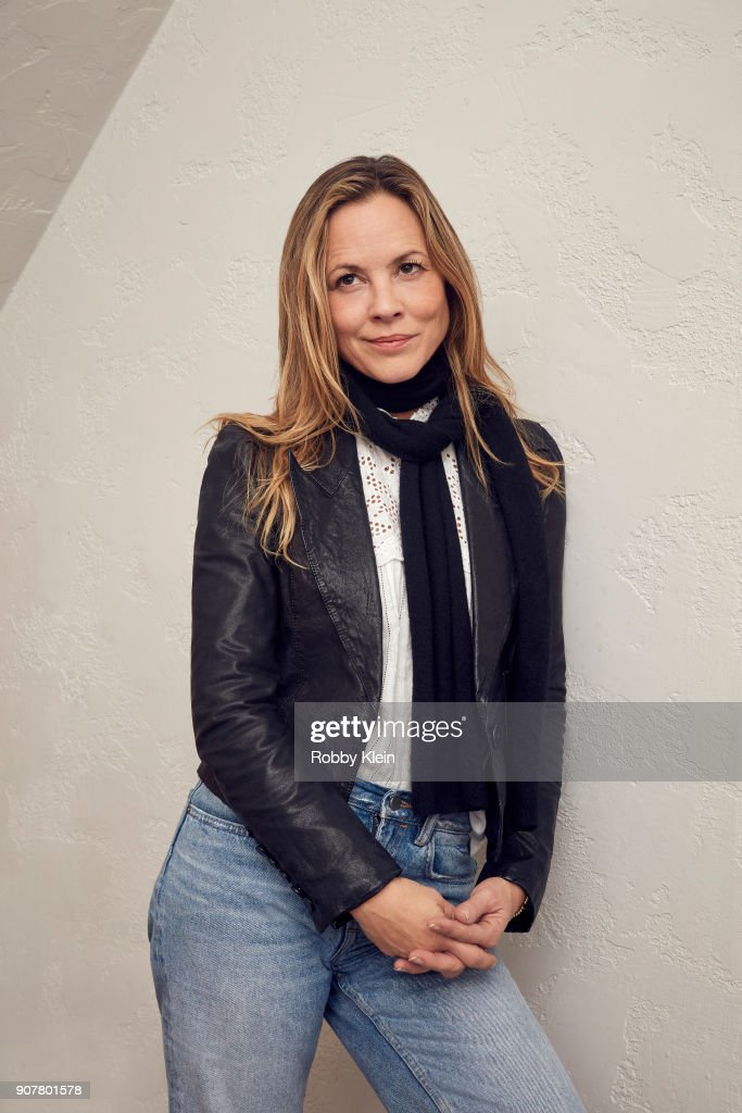 Maria Bello from the film 'The Sun Ladies' poses for a portrait at the YouTube x Getty Images Portrait Studio at 2018 Sundance Film Festival on January 19, 2018 in Park City, Utah.