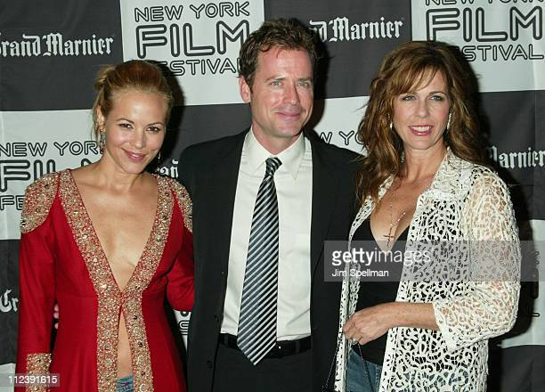 Maria Bello Greg Kinnear Rita Wilson during 40th New York Film Festival Screening of Auto Focus at Alice Tully Hall in New York New York United States