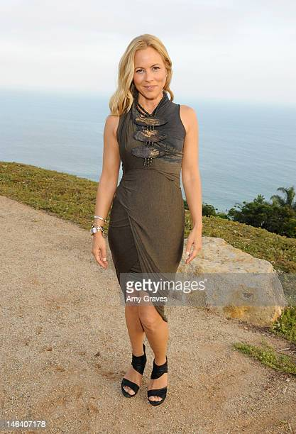 Maria Bello hosts an Evening Benefiting We Advance at a private residence on June 9 2012 in Malibu California