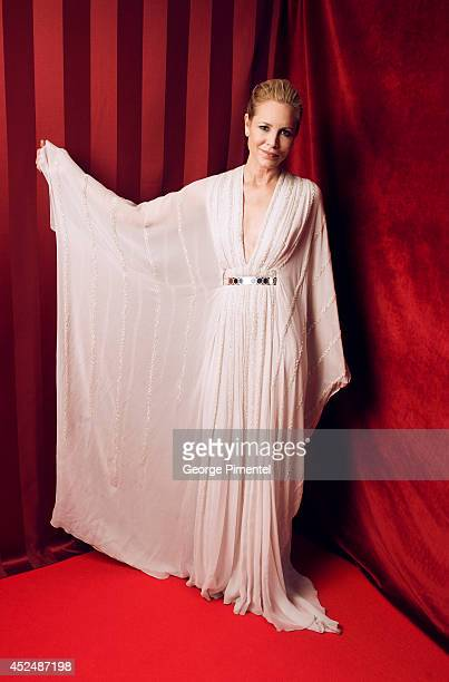 Maria Bello is photographed at the Canadian Screen Awards on March 9 2014 in Toronto Ontario