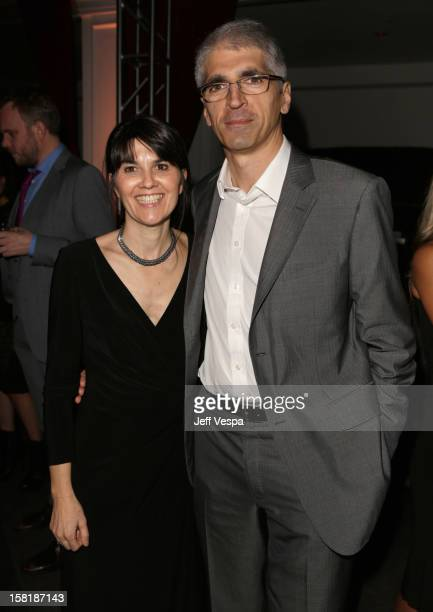 Maria Belon and Enrique Belon attend The Impossible Premiere Reception presented by Grey Goose Vodka at Boulevard3 on December 10 2012 in Hollywood...