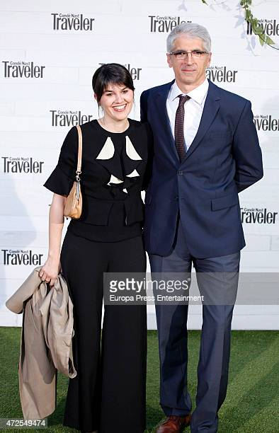 Maria Belon and husband Enrique Alvarez attend the VII Conde Nast Traveler Awards 2015 on May 7 2015 in Madrid Spain