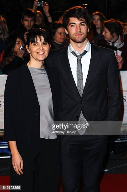 Maria Belon and Lucas Belon attend The Impossible Premiere on November 19 2012 at the BFI IMAX in London