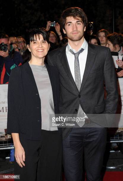 Maria Belon and Lucas Belon attend the UK charity premiere of 'The Impossible' at BFI IMAX on November 19 2012 in London England