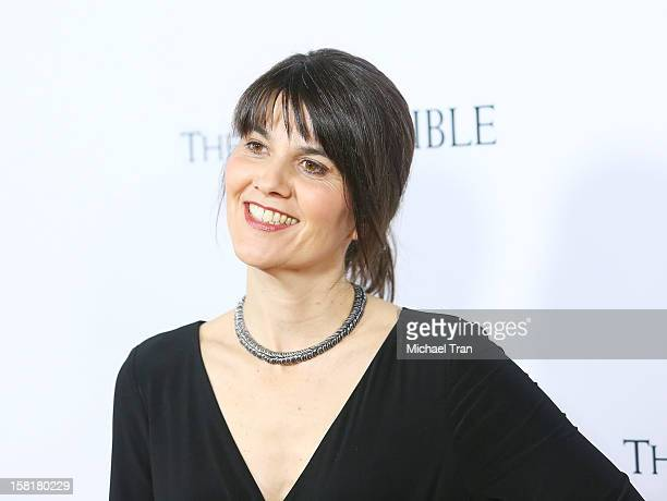 """Maria Belon arrives at the Los Angeles premiere of """"The Impossible"""" held at ArcLight Cinemas Cinerama Dome on December 10, 2012 in Hollywood,..."""