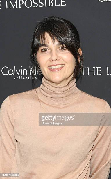 Maria Belon attends The Impossible New York Special Screening at Museum of Art and Design on December 12 2012 in New York City