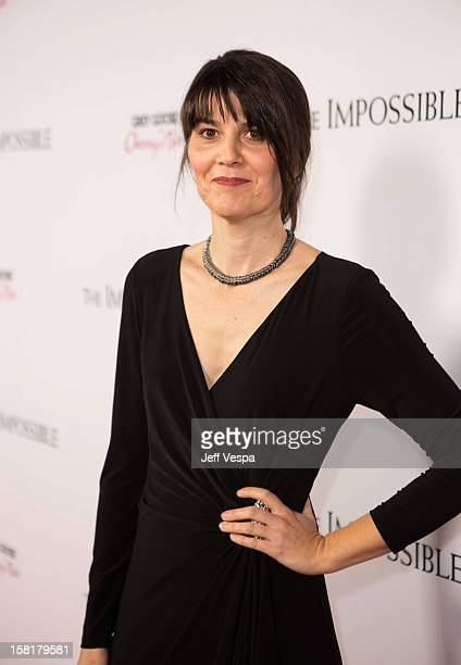Maria Belon attends the Los Angeles Premiere of The Impossible presented by Grey Goose Vodka at ArcLight Cinemas on December 10 2012 in Hollywood...