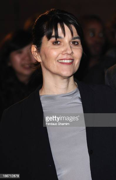 Maria Belon attends the UK charity premiere of 'The Impossible' at BFI IMAX on November 19 2012 in London England