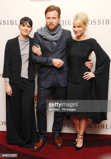 Maria Belon Ewan McGregor and Naomi Watts arrive at the premiere of The Impossible at the BFI Imax in London