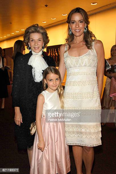Maria Bockmann Mary Julie Koch and Julia Koch attend Literacy Partners Hosts Annual Gala An Evening of Readings Honoring David and Julia Koch at...
