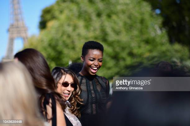 Maria Borges attends Le Defile L'Oreal Paris as part of Paris Fashion Week Womenswear Spring/Summer 2019 on September 30 2018 in Paris France
