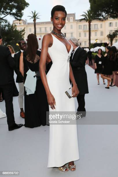 Maria Borges attends the amfAR Gala Cannes 2017 at Hotel du CapEdenRoc on May 25 2017 in Cap d'Antibes France