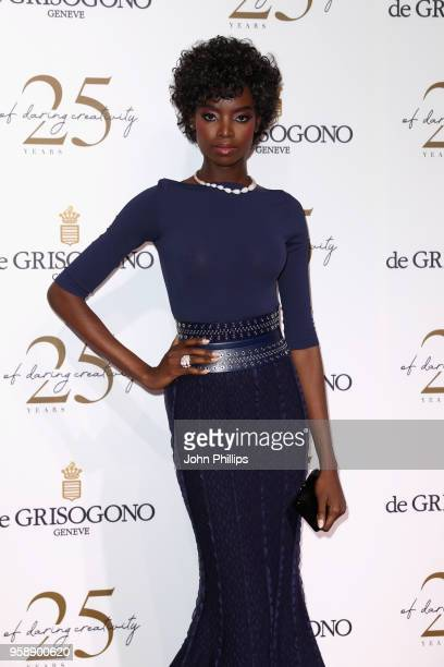 Maria Borges attends the De Grisogono party during the 71st annual Cannes Film Festival at on May 15 2018 in Cap d'Antibes France