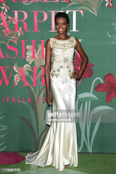 Maria Borges attends the Green Carpet Fashion Awards during the Milan Fashion Week Spring/Summer 2020 on September 22 2019 in Milan Italy