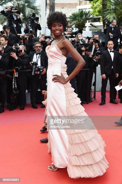 Maria Borges attends the screening of 'Solo A Star Wars Story' during the 71st annual Cannes Film Festival at Palais des Festivals on May 15 2018 in...