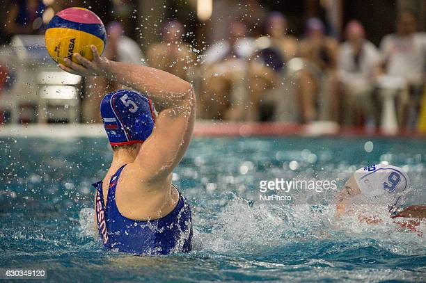 Maria Borisova of Russia during the World League Women's match between Netherlands and Russia on December 20 2016 in Utrecht Netherlands