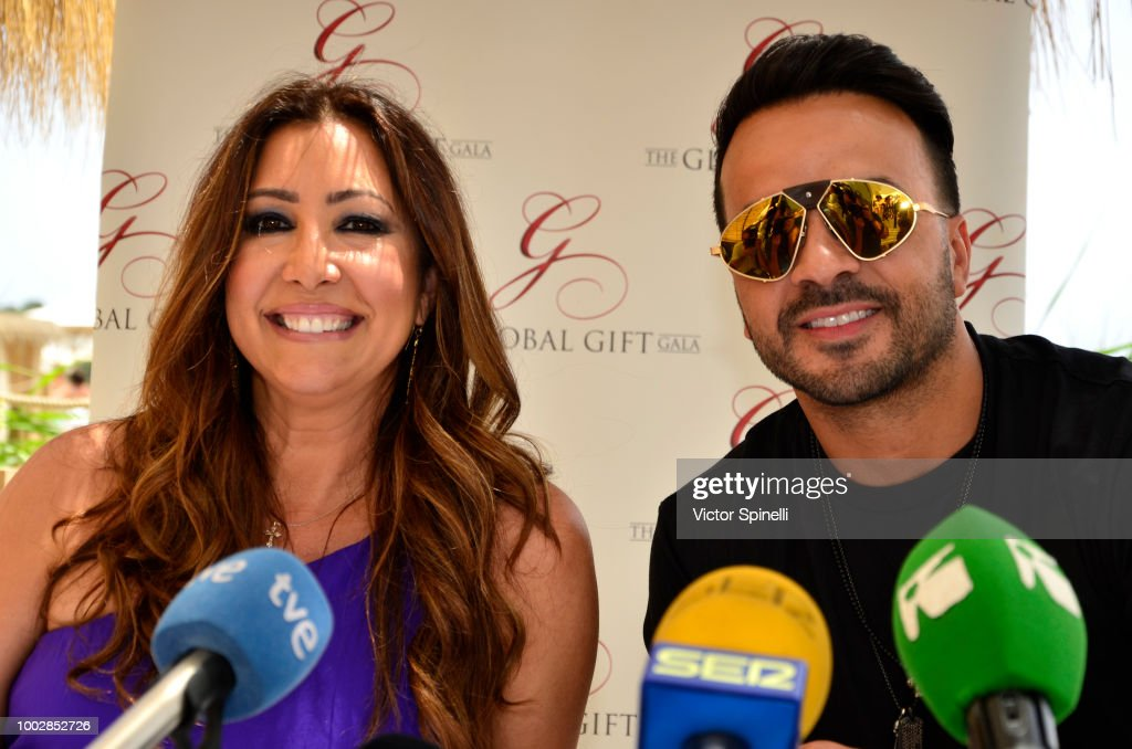 Luis Fonsi Attends The Gala Global Gift Presentation in Ibiza