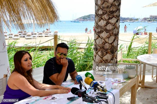 Luis Fonsi attends The Gala Global Gift presentation on July 18 2018 in Ibiza Spain