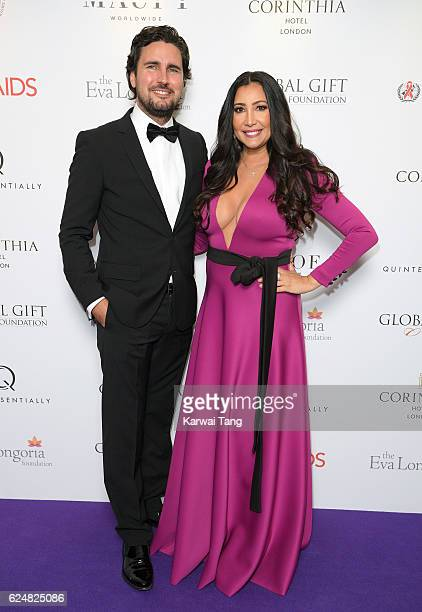 Maria Bravo attends the Global Gift Gala in partnership with Quintessentially on November 19 2016 at the Corithinia Hotel in London United Kingdom
