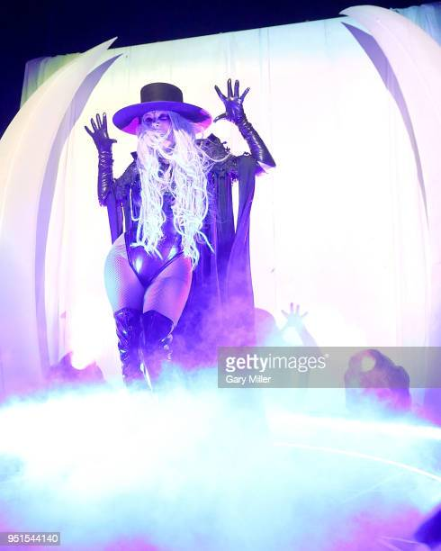 Maria Brink of In This Moment performs in concert at Emo's on April 25 2018 in Austin Texas