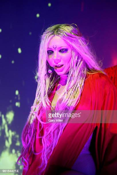 Maria Brink of In This Moment performs in concert at Emo's on April 25, 2018 in Austin, Texas.