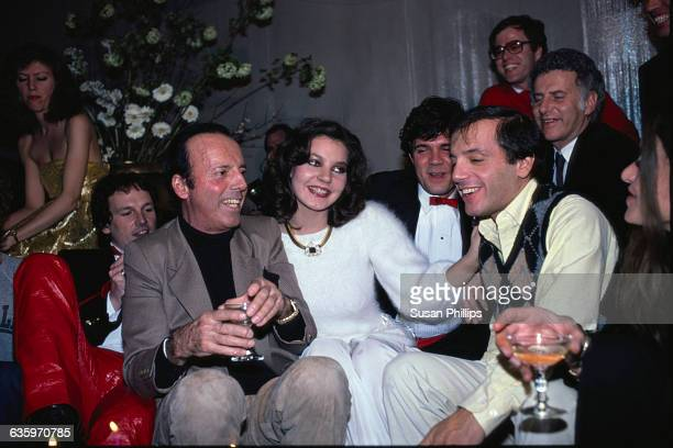 Maria Burton adopted daughter of Richard Burton and Liz Taylor attends a house party with celebrity and fashion photographer Francesco Scavullo and...