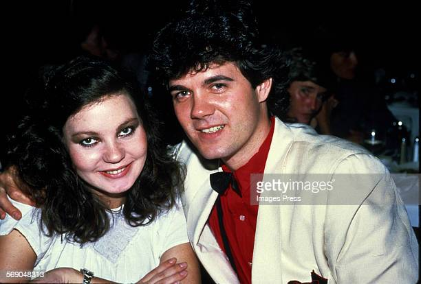 Maria Burton and husband Steve Carson circa 1982 in New York City