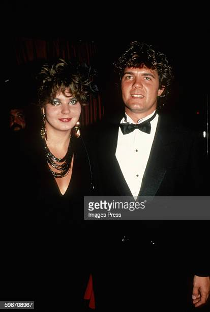 Maria Burton and husband Steve Carson circa 1983 in New York City